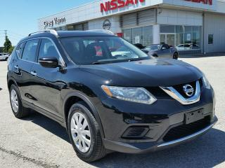 Used 2015 Nissan Rogue S FWD w/rear cam,sxm radio,cruise,bluetooth for sale in Cambridge, ON