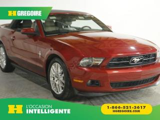 Used 2012 Ford Mustang V6 PREMIUM CABRIO for sale in St-Léonard, QC