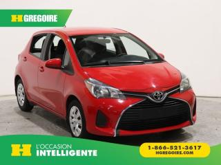 Used 2015 Toyota Yaris SE A/C GR ELECT for sale in St-Léonard, QC
