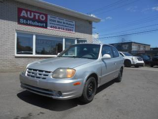 Used 2003 Hyundai Accent GS for sale in St-Hubert, QC