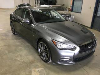 Used 2015 Infiniti Q50 Ltd Awd Cuir Toit for sale in L'ile-perrot, QC