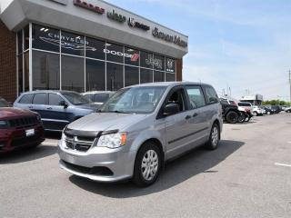 Used 2016 Dodge Grand Caravan SE REMOTE STARTER/TRAILER PACKAGE/ REAR STOW AND G for sale in Concord, ON