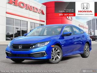 New 2019 Honda Civic EX for sale in Cambridge, ON