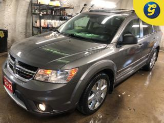 Used 2013 Dodge Journey R/T * AWD * 7 Passenger * Navigation * Leather * Sunroof *  Overhead Rear DVD player *  Push button ignition * Remote start * Roof Rack * Keyless/Pass for sale in Cambridge, ON