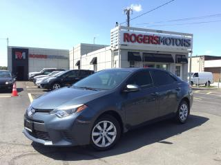 Used 2016 Toyota Corolla LE - BLUETOOTH - HTD SEATS - CAMERA for sale in Oakville, ON