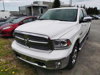 Used 2015 RAM 1500 LARAMIE / CABINE MULTIPLACES 4RM / CUIR for sale in Sherbrooke, QC