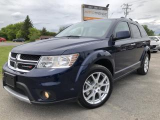 Used 2018 Dodge Journey GT AWD with DVD, NAV, Leather, Sunroof and Heated Steering and Seats! for sale in Kemptville, ON