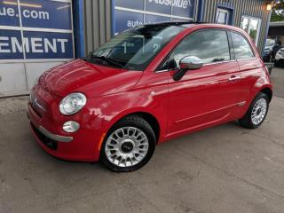 Used 2012 Fiat 500 Cuir + Toit for sale in Boisbriand, QC