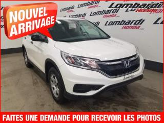 Used 2015 Honda CR-V LX/AUTO./IMPECCABLE for sale in Montréal, QC