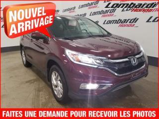 Used 2015 Honda CR-V EX/AUTO./AUCUN ACCCIDENT for sale in Montréal, QC
