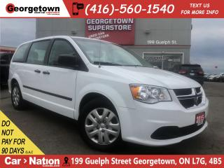 Used 2015 Dodge Grand Caravan SE/SXT | ECO | DUAL ZONE CLIMATE | STOW'N'GO for sale in Georgetown, ON