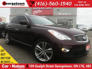 Used 2015 Infiniti QX50 TECH |NAVI | BOSE| ADAPTIVE CRUISE| BLIND SPOT SYS for sale in Georgetown, ON