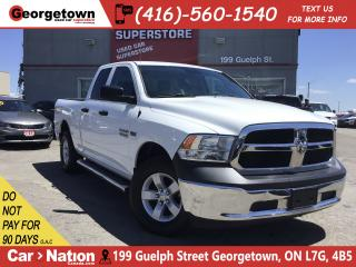 Used 2017 RAM 1500 SXT | 5.7L| 4X4 | 6'4 BOX | 46K|PWR GRP |SAT RADIO for sale in Georgetown, ON