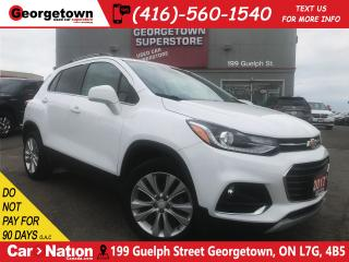 Used 2017 Chevrolet Trax Premier | AWD | LEATHER | BU CAM | ROOF | BOSE for sale in Georgetown, ON