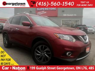 Used 2016 Nissan Rogue SL Premium | AWD | NAVI | 360 CAM | LEATHER | ROOF for sale in Georgetown, ON