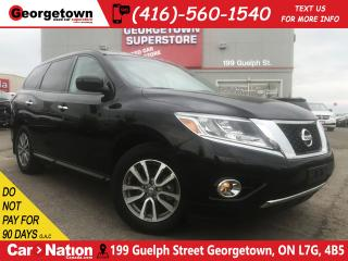Used 2016 Nissan Pathfinder S | 4x4 | V6 | ONLY 26,930KM | LEATHER | 7 PASS for sale in Georgetown, ON
