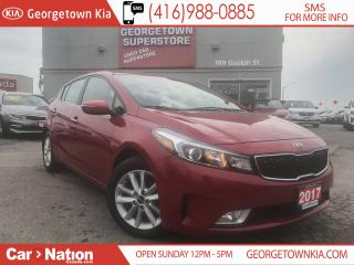 Used 2017 Kia Forte5 EX 2.0L B/U CAM| ALLOY RIMS | HTD SEATS| 22,708KMS for sale in Georgetown, ON