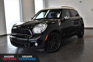 Used 2014 MINI Cooper Countryman S + ALL 4 + TOIT PANORAMIQUE + CUIR + BL for sale in St-Jean-Sur-Richelieu, QC