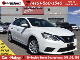 Used 2017 Nissan Sentra 1.8 SV | AUTO | BLUTOOTH | PWR GROUP | BU CAM for sale in Georgetown, ON