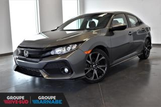Used 2017 Honda Civic SPORT + TURBO + TOIT OUVRANT + CAMERAS + for sale in St-Jean-Sur-Richelieu, QC