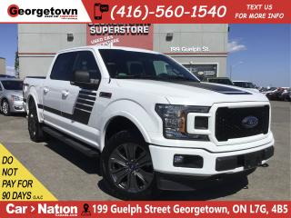Used 2018 Ford F-150 XLT SPORT | 4X4 | ECOBOOST | SPECIAL ED | NAVI for sale in Georgetown, ON