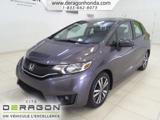 Used 2016 Honda Fit Ex+t.ouvrant+camera for sale in Cowansville, QC