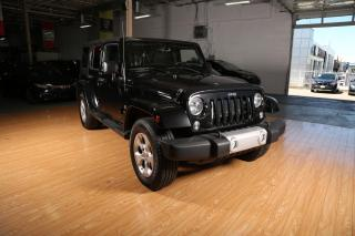 Used 2014 Jeep Wrangler UNLIMITED 4WD 4DR SAHARA for sale in Toronto, ON