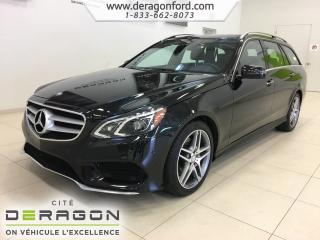 Used 2016 Mercedes-Benz E-Class E400 Wagon for sale in Cowansville, QC