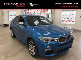 Used 2017 BMW X4 M40i for sale in Sherwood Park, AB