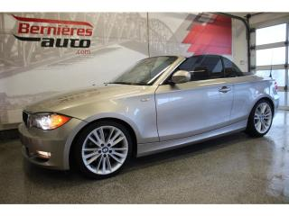 Used 2011 BMW 1 Series 128 Convertible for sale in Lévis, QC