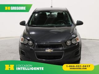Used 2015 Chevrolet Sonic LT A/C GR ELECT for sale in St-Léonard, QC