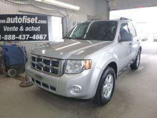 Used 2009 Ford Escape XLT Autom, 2.5L $34.56/sem+taxes for sale in St-Raymond, QC