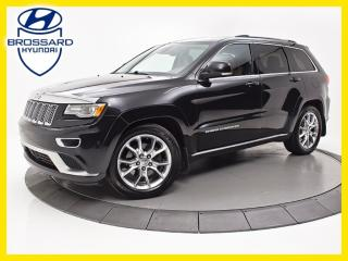 Used 2015 Jeep Grand Cherokee Summit, Cuir Toit for sale in Brossard, QC