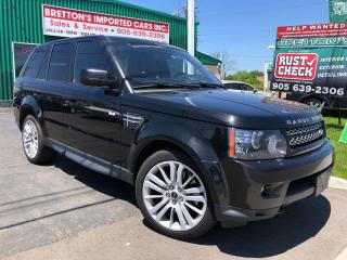 Used 2012 Land Rover Range Rover Sport HSE LUX for sale in Burlington, ON