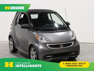 Used 2013 Smart fortwo PASSION A/C GR for sale in St-Léonard, QC