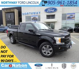 Used 2018 Ford F-150 Lariat | NAV | SUNROOF | SPORT | RARE SUPER-CAB | for sale in Brantford, ON