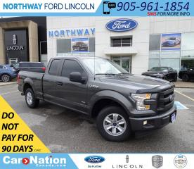 Used 2017 Ford F-150 XL | SPORT| ECOBOOST | SYNC | RWD | for sale in Brantford, ON