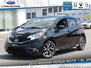 Used 2015 Nissan Versa Note 1.6 Sr Camera for sale in Victoriaville, QC