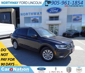 Used 2018 Volkswagen Tiguan Trendline | AWD | HTD SEATS | CONVENIENCE PKG | for sale in Brantford, ON