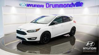 Used 2017 Ford Focus SEL + GARANTIE + TOIT + MAGS + APPLE CAR for sale in Drummondville, QC