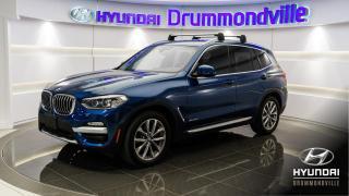 Used 2018 BMW X3 XDRIVE 30I + GARANTIE + TOIT + NAVI !! for sale in Drummondville, QC