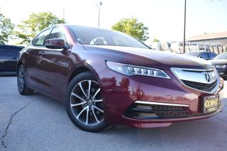 Used 2015 Acura TLX V6 TECH PACKAGE - ONTARIO CAR for sale in Oakville, ON