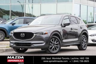 Used 2017 Mazda CX-5 Gt Tech Package Cuir for sale in Lachine, QC