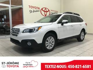 Used 2017 Subaru Outback AWD for sale in Mirabel, QC