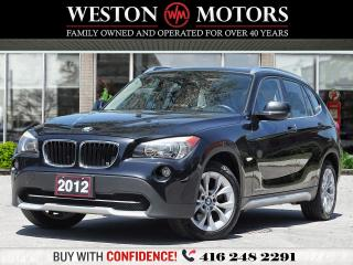 Used 2012 BMW X1 *28i*AWD*LEATHER*PAN AM SUNROOF!!* for sale in Toronto, ON