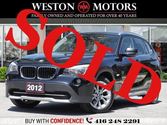 2012 BMW X1 *28i*AWD*LEATHER*PAN AM SUNROOF!!*