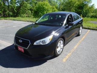 Used 2015 Subaru Legacy 2.5I for sale in Cornwall, ON