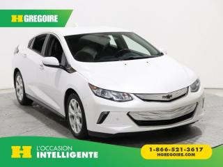 Used 2017 Chevrolet Volt PREMIER HYBRIDE GR for sale in St-Léonard, QC