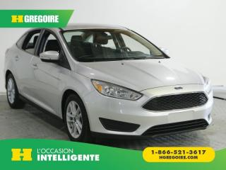 Used 2017 Ford Focus SE A/C GR ELECT for sale in St-Léonard, QC