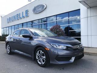 Used 2018 Honda Civic LX Auto for sale in St-Eustache, QC